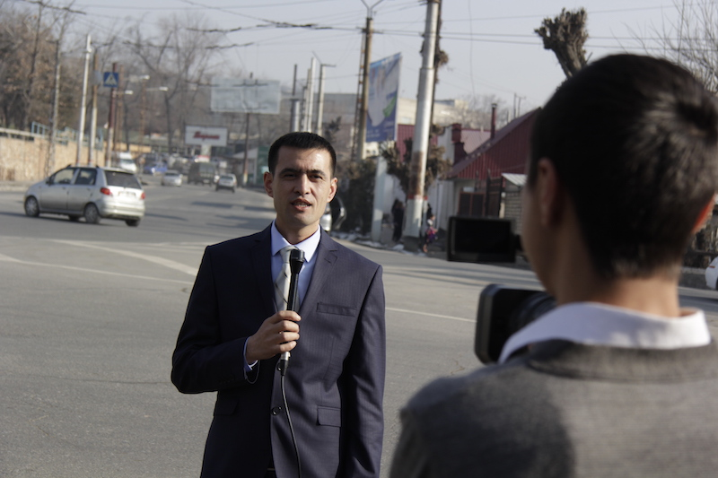Shootings on the streets of the Osh city